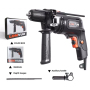 LOMVUM Electric Hammer Home Power Tools Impact Drill 220v Household Drill Multifunction Rotary Tool