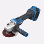 20V Battery 115mm 125mm Brushless cordless angle grinder machine