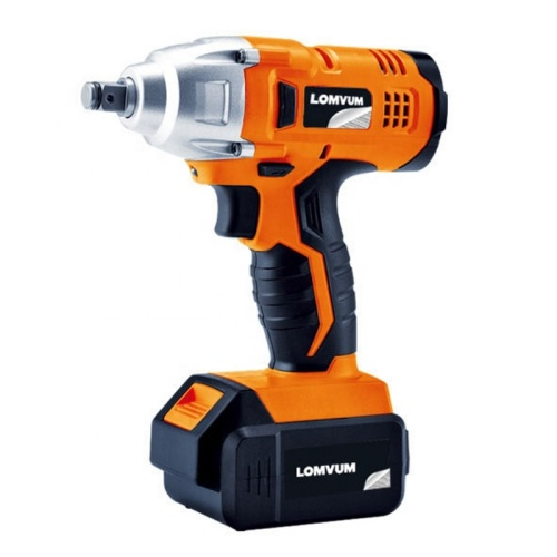 Lomvum 340 NM torque brushless motor impact cordless electric wrench