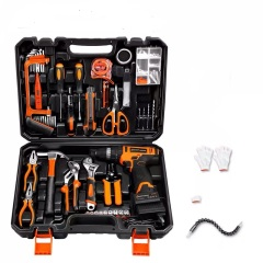 LOMVUM Hand Tool 20PCS QJ Multi Functional Professional Electric Cordless Impact Drill Tool set