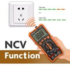 Lomvum NCV AC/DC voltage digital 6000 counts measurement multimeter