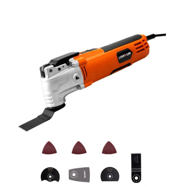 LOMVUM Power Tool DIY Multi Function Oscillating Multi Tool Electric Oscillating Blades Saw