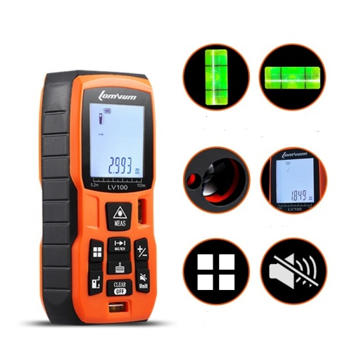 Lomvum LVB Portable Measuring Tool for Distance Volume Handheld Laser Distance Meter