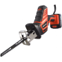 LOMVUM 12V 16.8V 21v power cordless reciprocating saw blades for metal for pruning