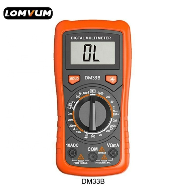 LOMVUM handheld digital multi tester