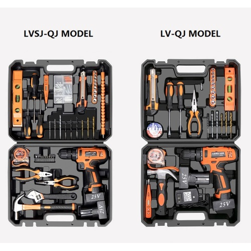 LOMVUM Hand Tool Electric tools Multi Functional Electric Cordless Drill Set Tool set DIY