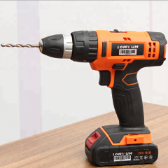 12V Battery Power Tools Self Drill Screw Driver Cordless Impact Drill Machine with Drill Bit