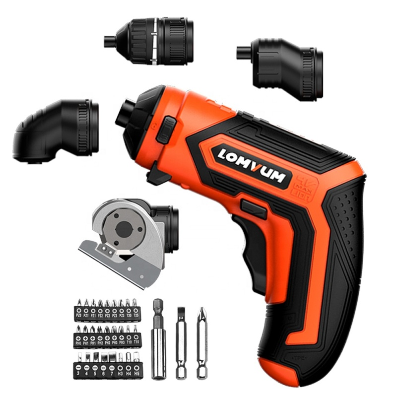 Lomvum  New Arrival 4V LED Portable Very Light Weight Power Tool Mini Screwdriver