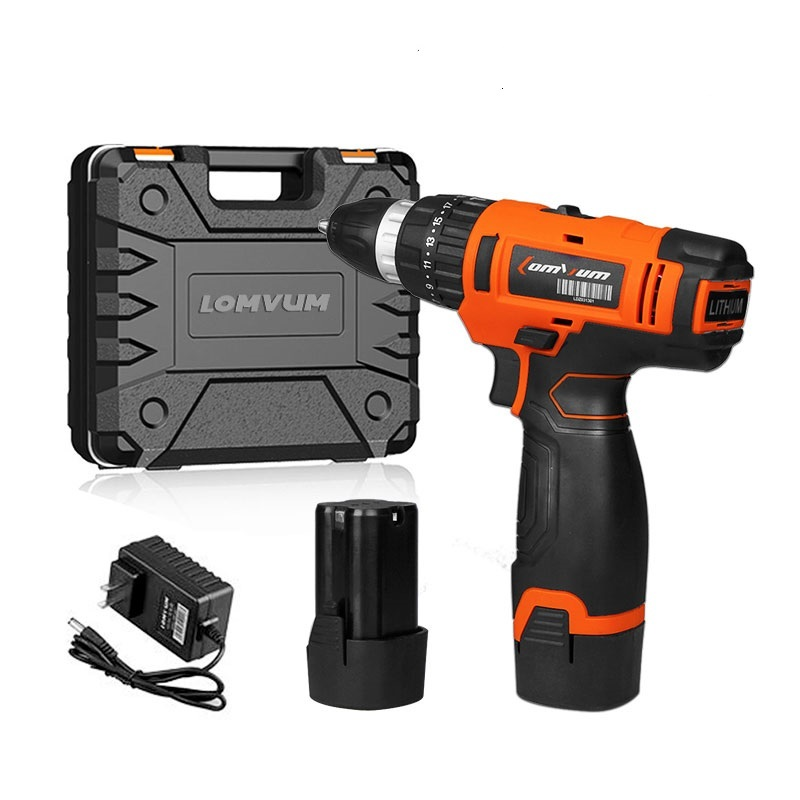20V/12V Power Drill Cordless  Electric Drilling MachinesWith Plastic box