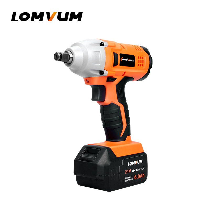 China Products Repairing Car Tools 280NM Rechargeable Battery Frameless Electric Impact Wrench for Screw Driving