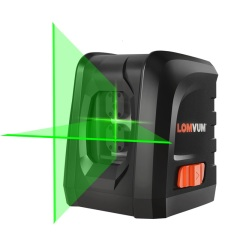 Mini Laser Level Self-Leveling Horizontal and Vertical Cross Line 360 Self-leveling Portable