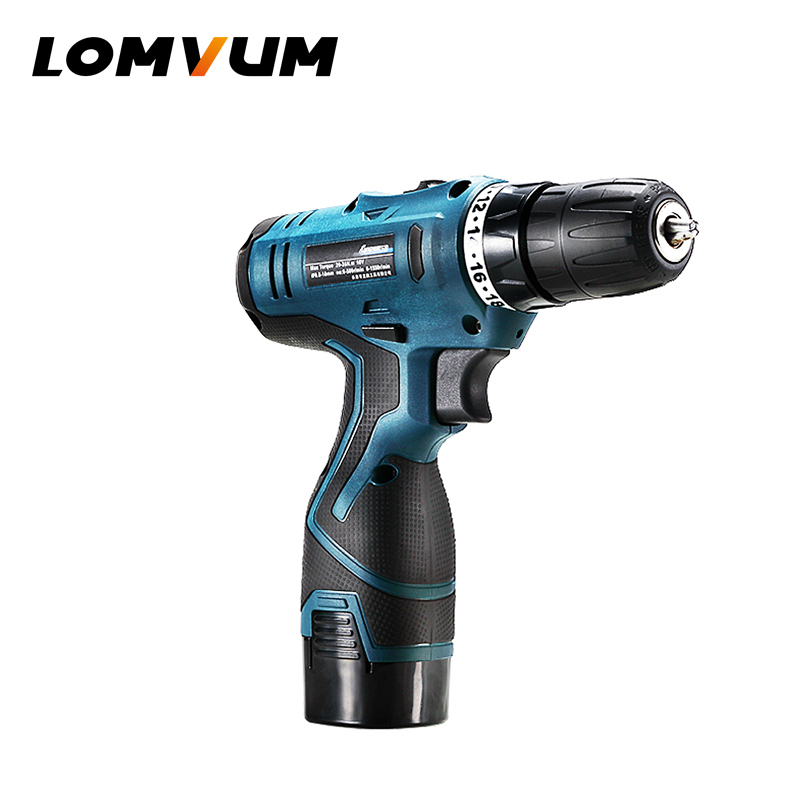LOMVUM NEW Arrivals Rechargeable Multifunction Power Tools Mini Cordless Drill Water Well Drilling Machine