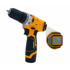 Power Double Speed Battery Impact Cordless Drill Driver