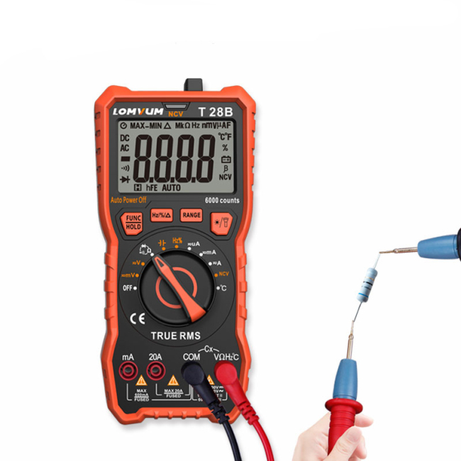 Lomvum Electronic Digital Precision Multi Meter