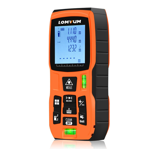 Lomvum LVB120M Hot Sales Cheap Digital Measure tape  Laser Distance Meter rangefinder