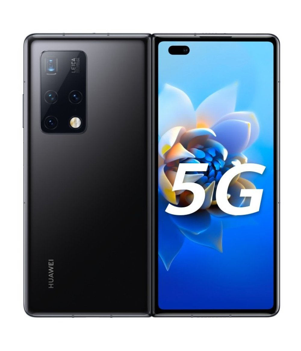 "2021 HUAWEI Mate X2 5G 8"" foldable screen Full Netcom 256GB Kirin 9000 (bright black) Phone By FedEx Free Shipping Official Genuine"