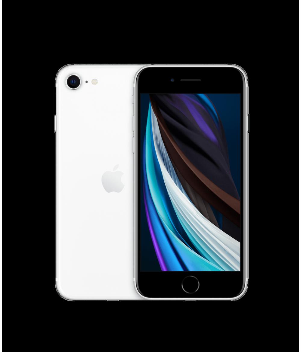 Глобальная версия Новинка - Apple iPhone SE (128 ГБ) 4.7-дюймовый процессор A13 Bionic iOS 13 12-мегапиксельная широкоугольная камера 1080p HD-видео NFC Wi ‑ Fi Встроенный смартфон с GPS