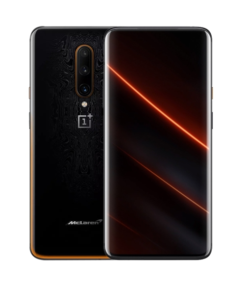 OnePlus 7T Pro 12GB 256GB Mclaren Snapdragon 855 Plus SmartPhone 6.67 ''Vloeistof AMOLED Screen 90Hz 48MP Triple Camera NFC