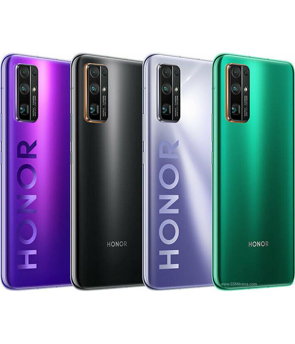 Neuankömmling Ehre 30 5G Kirin 985 6.53 '' OLED-Bildschirm 40MP Quad-Cam Cam 50x Digitalzoom Android 10 Telefon SuperCharge 40W NFC MobilePhone