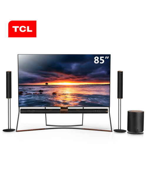 Original TCL 85X6 High quality 85 inch 4K primary color quantum dot full ecological HDR smart TV 360° panoramic sound, shocking and hearing