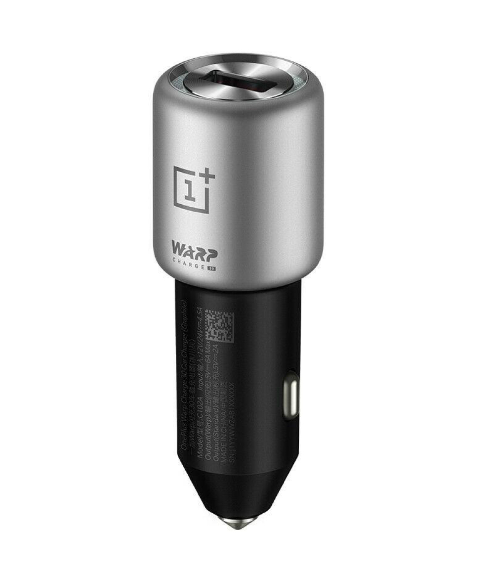 Original OnePlus Warp Charge 30 Car fast charger 5V=6A Max For 7 Pro / 5T / 6 / 6T Type-C OTG flash charging travel set