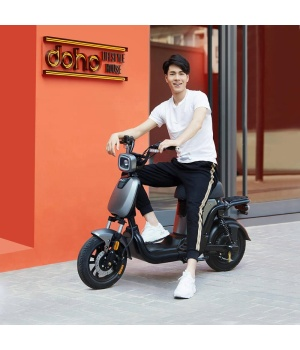Xiaomi HIMO T1 electric bicycle HD LCD instrument, LED light group 14 Inch 48V350W 14Ah/28Ah Lithium Battery 60-120km Max Speed 25km/h
