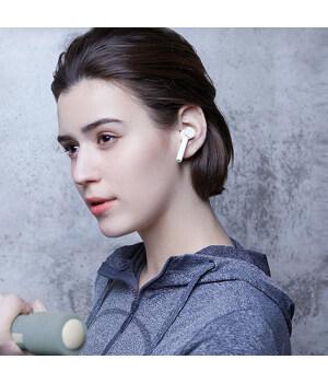 Xiaomi TWSEJ02JY Air TWSEJ02JY 2019 NEUES TWS Bluetooth 5.0 Ohrhörer winziges Headset + Ladekoffer für Sport Gym Boy