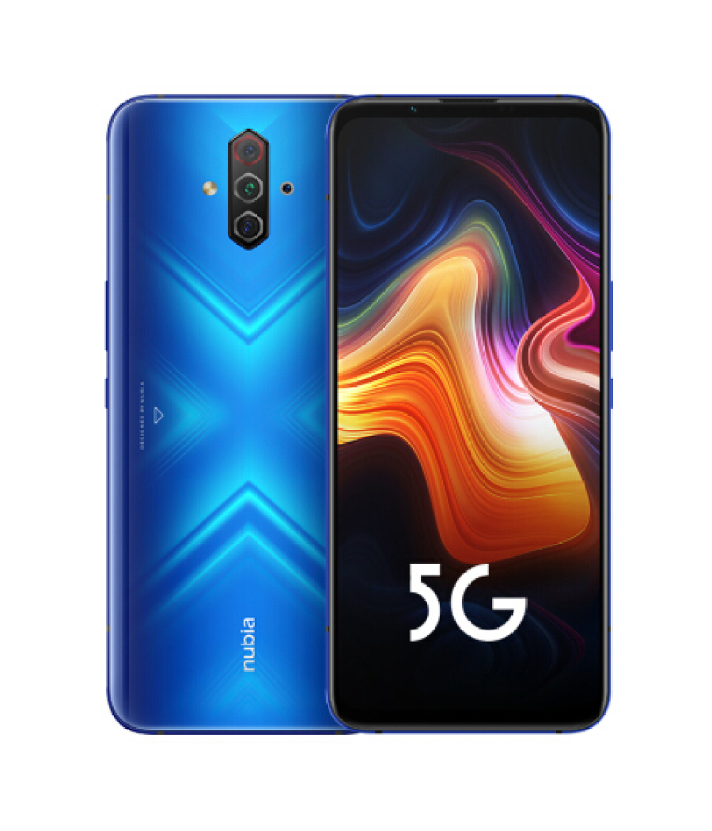 "Brand New Nubia Play 5G Game 5G Mobile Phone 6.65"" 8GB 128GB 5100mAh 30W Snapdragon 765G 48MP Quad Camera NFC 5G Smartphone"