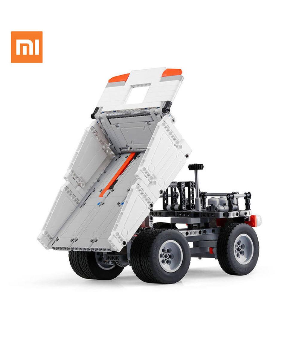 Original XiaoMi Mijia Mitu Truck Mi building Blocks Finger Spinner Gift For Kids Safety Portable Builder Smart Mini Toys