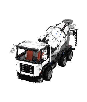 New Xiaomi Smart Engineering Mixer Engineering Stir Vehicle Mixer Block Mi home Educational Toys For Children Kids Toys