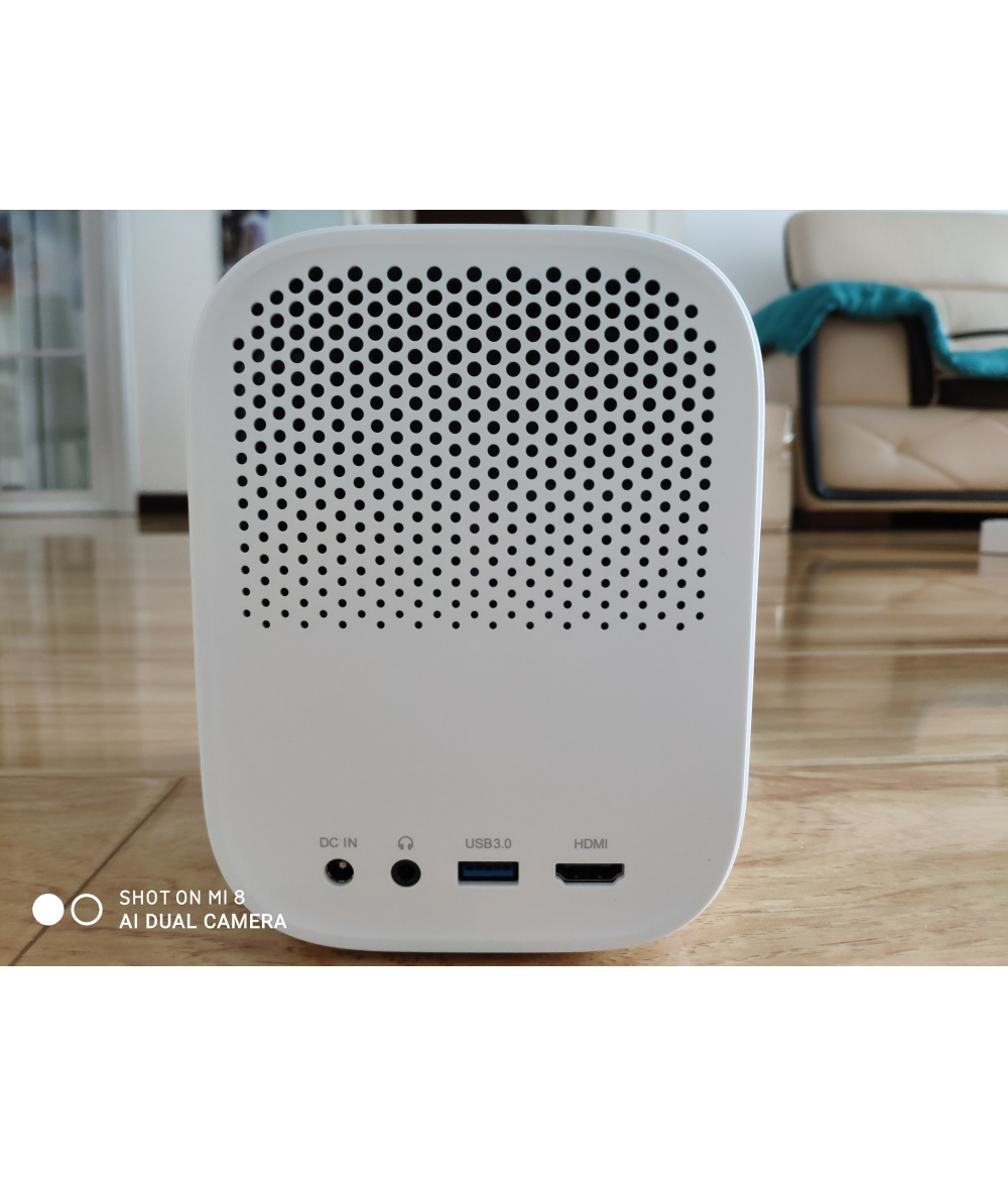 "Original Xiaomi Mini Projector Mini 60-120"" Full HD 1080P DLP 500ANS Dolby Audio Android 9 TV Google Assistant"