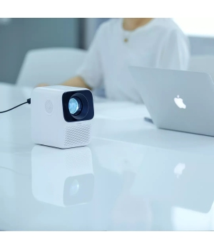 Xiaomi Wanbo LCD Projector T2 HDMI HD input 150 ANSI lumens Vertical Keystone Correction Portable Home Theater Projector