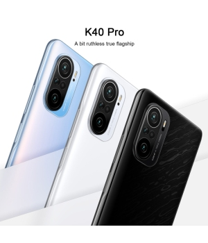 Launched on the same day 2021 Latest Xiaomi Redmi K40 Pro 5G 8GB 128GB gaming phone E4 flagship straight screen 120Hz high brush Dolby Atmos 4520mAh high battery WiFi 6 enhanced version 7.8mm thin and light body NFC infrared remote control