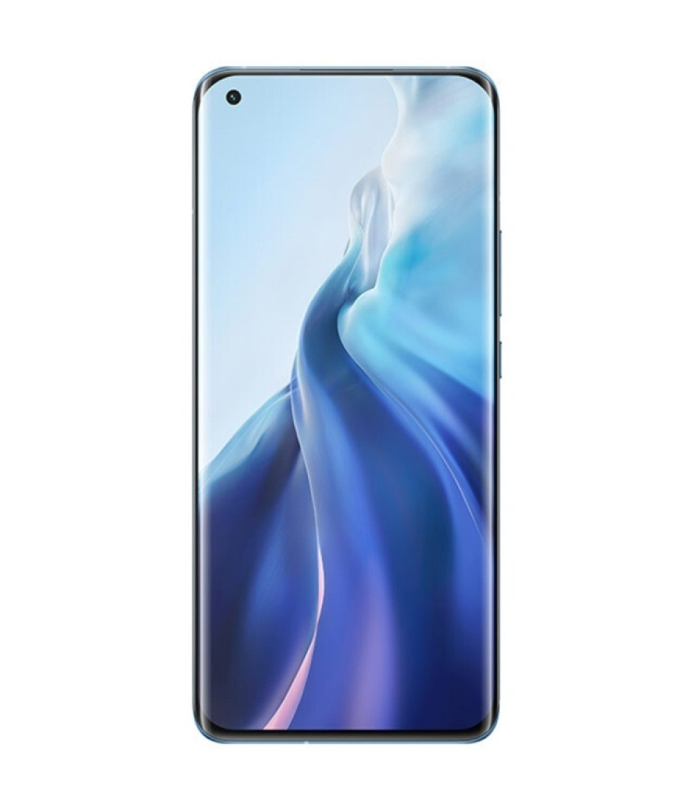 2021 New Arrival Xiaomi 11 5G Smartphone 5G mobile phones 12GB+256GB with Type-C 55W Charger 2K AMOLED four-curved flexible screen smartphones