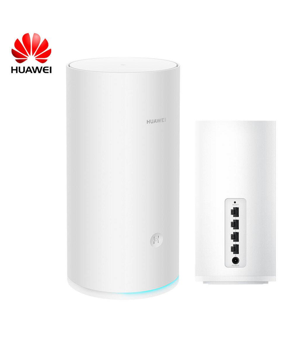 HUAWEI Router A2 Extender WiFi (белый) Множественное подключение без карты Подключение в одно касание Защита в Интернете Четырехъядерный процессор Трехдиапазонный высокоскоростной WIFI Ускорение мобильных игр