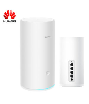 HUAWEI Router A2 Extender WiFi (white) Multi-connection without card One-touch connection Internet protection Quad-core processor Tri-band high-speed WIFI Mobile game acceleration