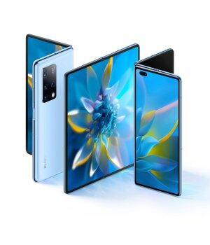 2021 HUAWEI Mate X2 5G 8-дюймовый складной экран Full Netcom 256GB Kirin 9000 (ярко-черный) Телефон FedEx Бесплатная доставка Официальный Подлинный