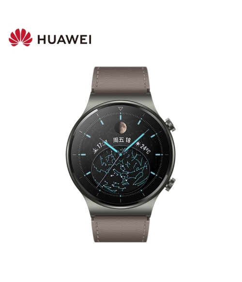 [New product launch] HUAWEI WATCH GT 2 Pro sports model, magic night black (46mm) GPS two-week long battery life Sport Record Fitness Tracker Smart Watch