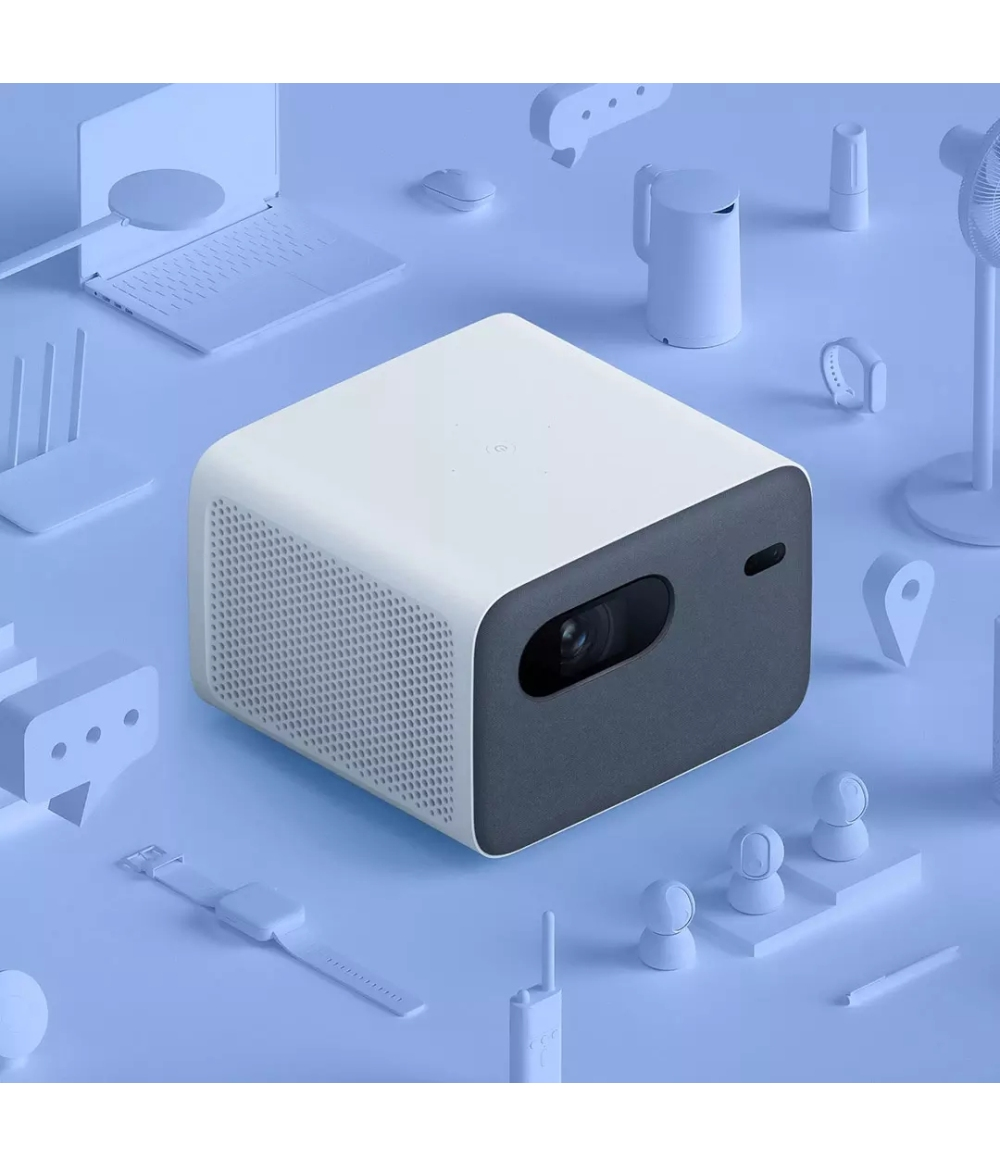 Original Xiaomi Mijia LED Projector 2 Pro Lumen 2GB RAM 16GB ROM Home Theater Support Side Projection