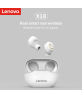 Lenovo X18 TWS Earphone Wireless Bluetooth 5.0 Touch Wireless Bluetooth Earphone with Charging Box, Support Call & Siri (White)