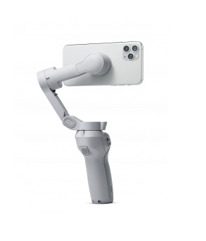 "Original DJI OM4 Foldable Phone Gimbal's magnetic quick release design makes it easier to disassemble and assemble the phone; gesture control, use the ""palm"" or ""victory"" gesture to trigger recording"