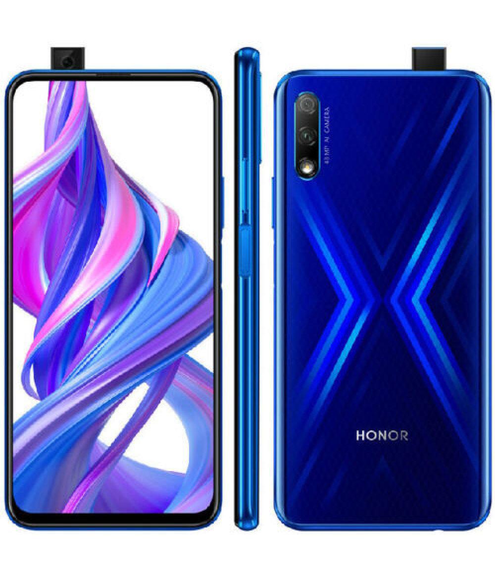 Huawei Honor 9X, 48-мегапиксельная камера, 7-нм восьмиядерный смартфон, 8 ГБ + 128 ГБ, двойная камера, 6.59-дюймовая полноэкранная выдвижная фронтальная камера