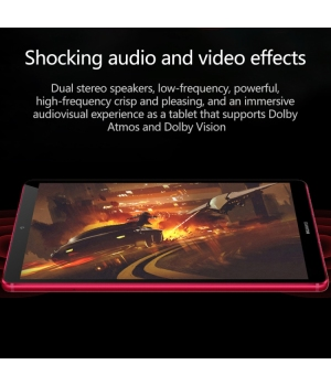 HUAWEI Tablet M6 High Energy Edition 8.4-inch 6GB + 128GB Full Netcom (Phantom Red) Kirin 980 Chip 2K Ultra-clear Picture Quality Harman Carton Tuning