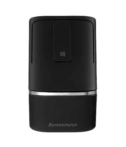 Original Lenovo dual-mode touch wireless mouse Bluetooth 4.0 and 2.4G Wireless N700 (black) HK DHL Free shipping