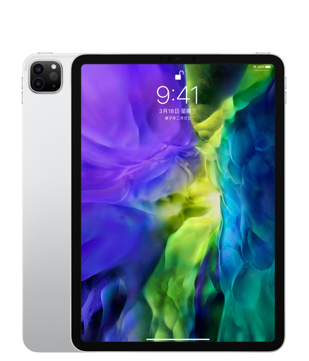 New 2020 Apple iPad Pro 11-inch A12Z Bionic chip with Display Screen Tablet WiFi 128G Apple Authorized Online Seller