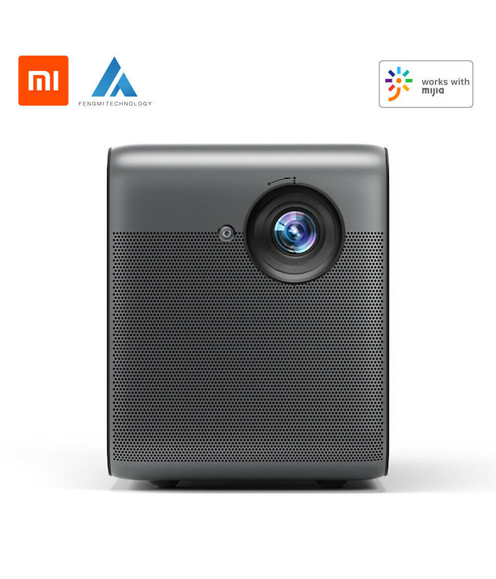 Xiaomi Fengmi Projector Smart Lite Home Portable Projector Theater Support Side Projection Auto Focus 1080P Full HD TV Mobile Wireless Projection Scre