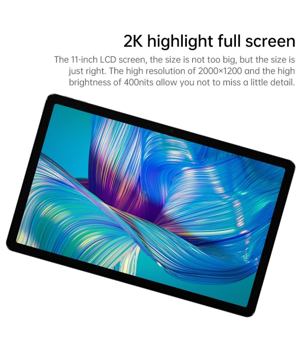 2021 New Arrival Lenovo Tablet PC Snapdragon 750G Octa-core 6GB 128GB 11 inch 2K Screen Android 11 WiFi