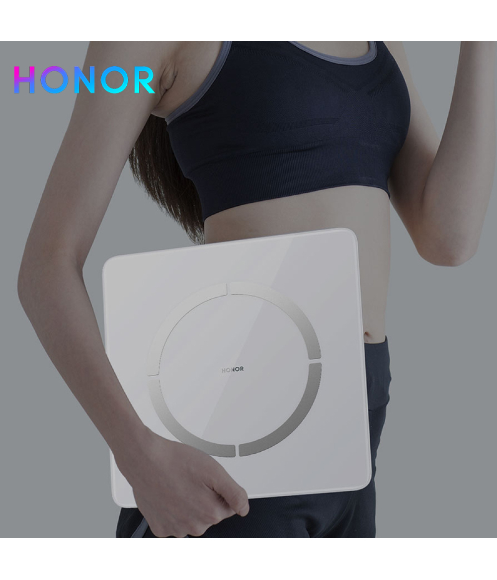 HONOR Smart Body Fat Scale 2 14 Body Analyzer Monitor Body Fat Rate Heart Rate Measurement Smart Weighing Scale for Androi