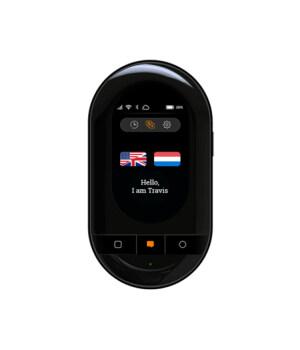 New Version Travis Touch Go eSIM, Two Way Translations, Touch Screen, .Smart Pocket Translator - Alinuola.com