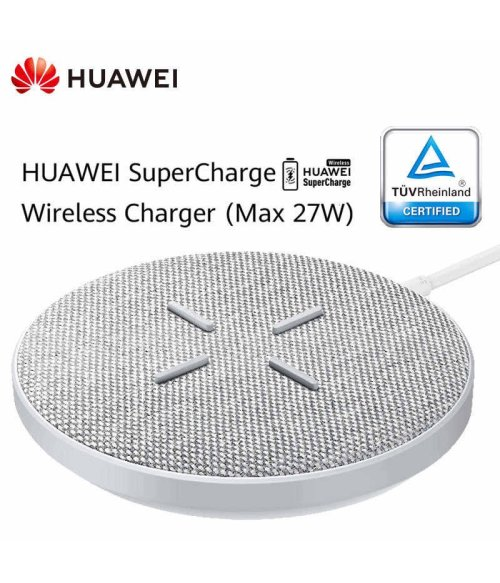 Huawei CP61 Wireless Charger Super Charger (Max 27W) Support For Android IOS Wireless QI Support